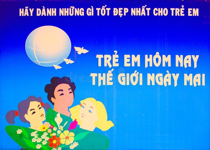 plakatowy Vietnam ilustracji