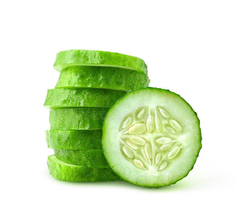 Plakken van komkommer royalty-vrije stock foto's