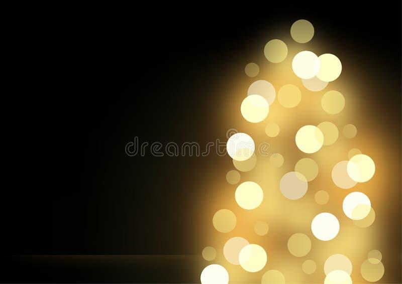 plam boże narodzenia wykonują drzewa ilustracja wektor