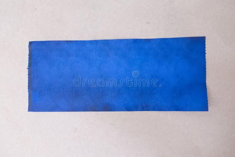 Plama atrament na papierze obrazy stock