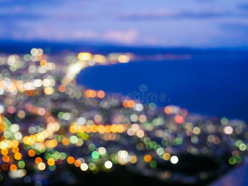 Plama Hakodate zatoka obrazy stock