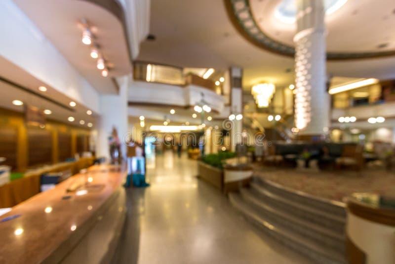Plama hotelu lobby tło fotografia royalty free
