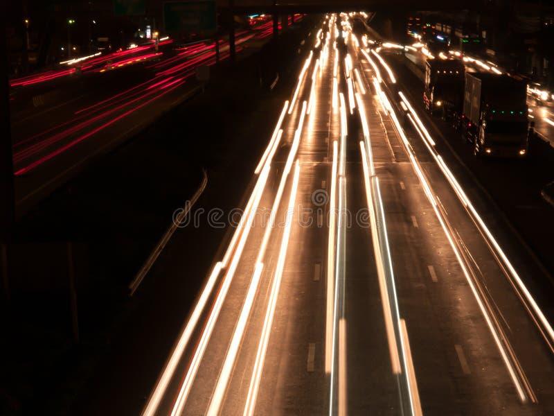 Plama, Lekki tło, nocy światło zdjęcie royalty free