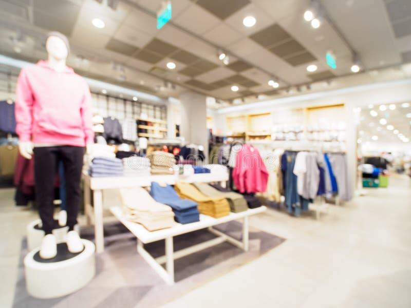 Plama sklep odzieżowy jako tło obraz royalty free