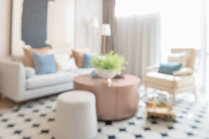 Plama wizerunek nowożytny żywy pokój fotografia royalty free