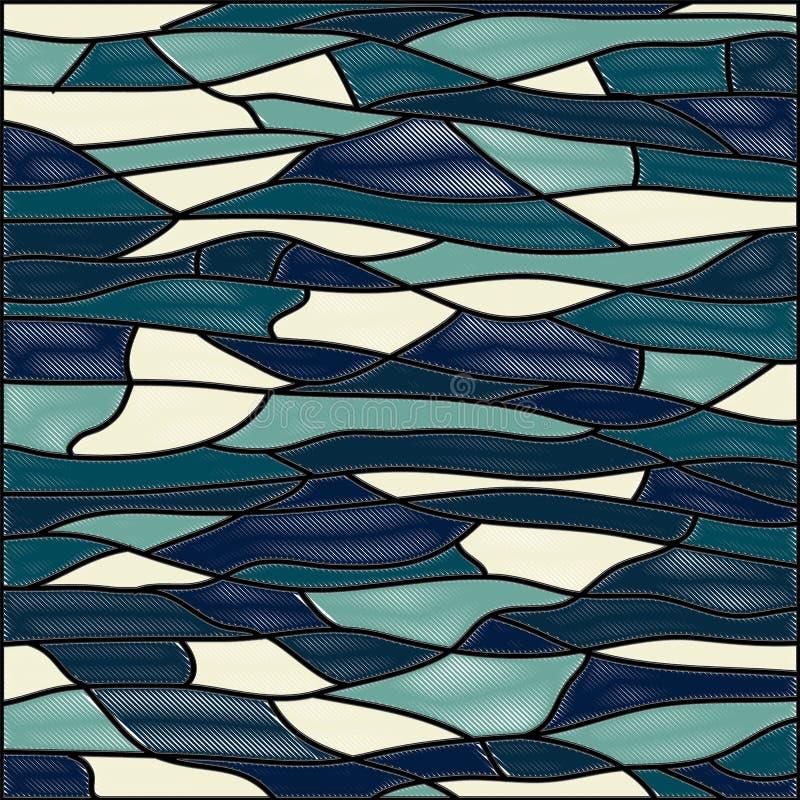 plamiący tła abstrakcjonistyczny szkło wektor ilustracja wektor