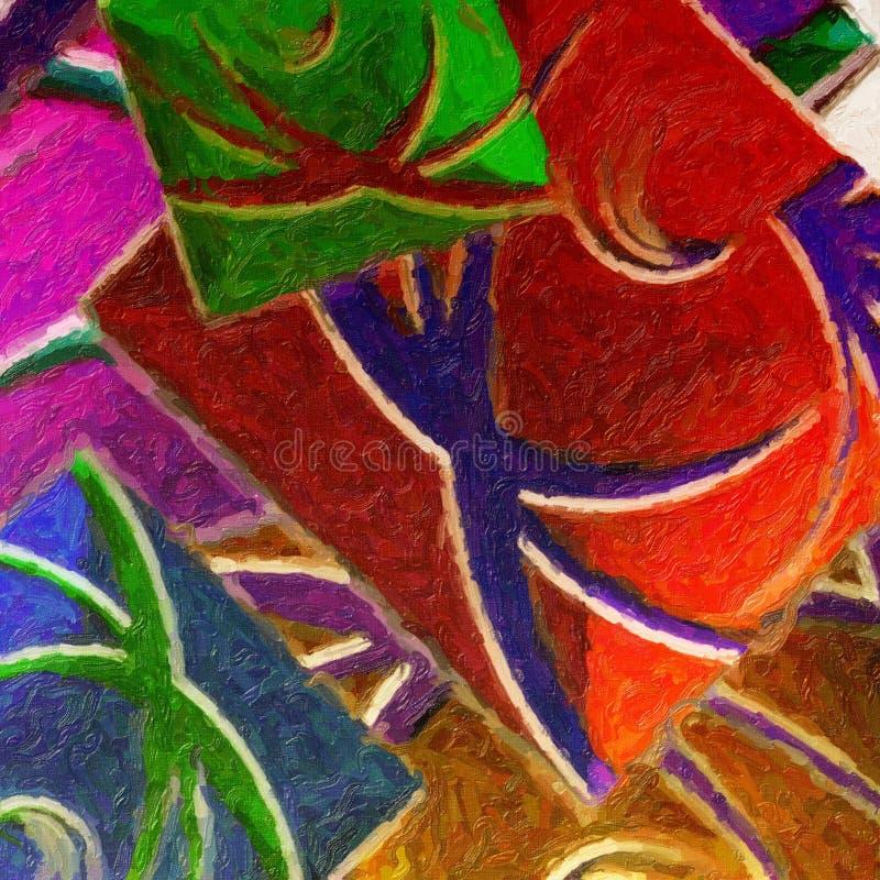 plami akwarelę ilustracja wektor