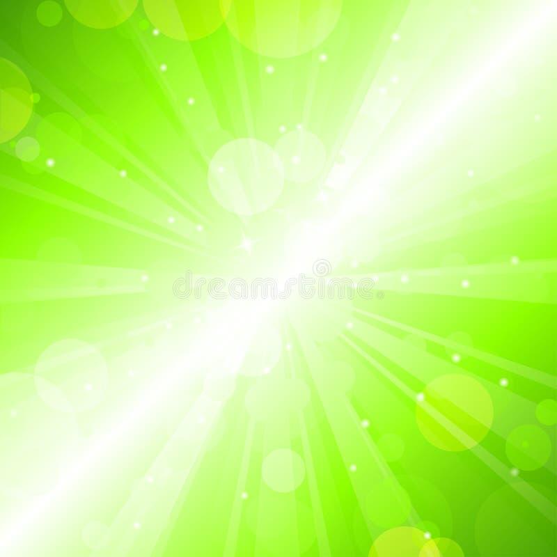 plamy zieleń ilustracji