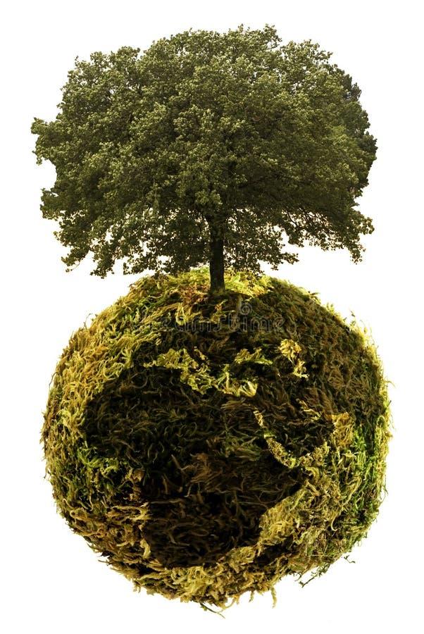 Planète écologique et énergies de substitution  photographie stock