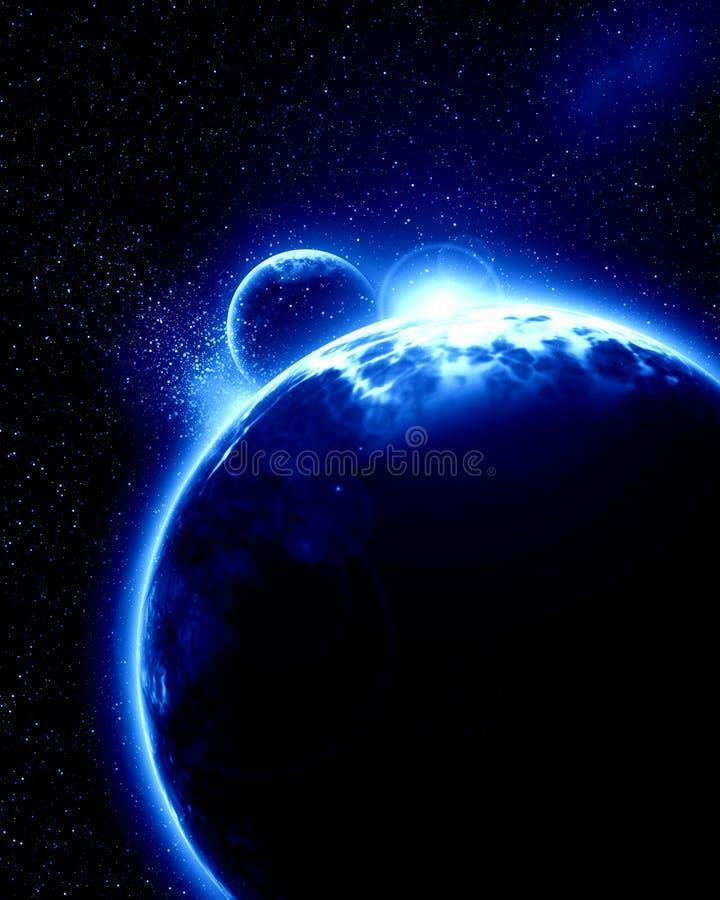 Planète étrangère illustration libre de droits