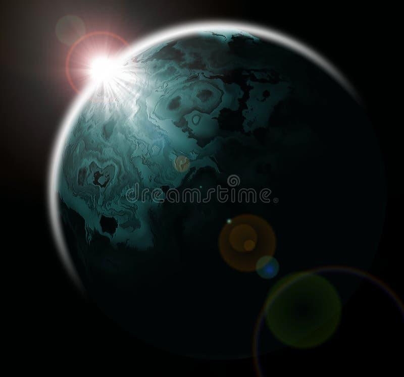 Planète illustration stock