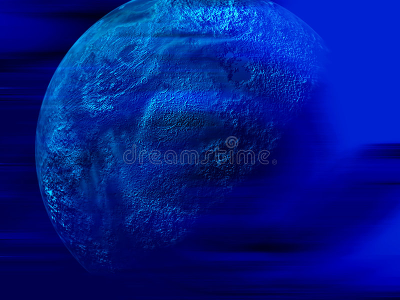 Planète abstraite illustration de vecteur