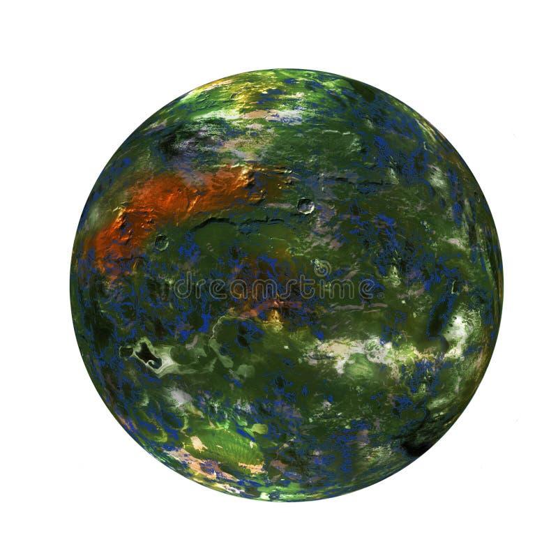 planète d'alpha illustration de vecteur
