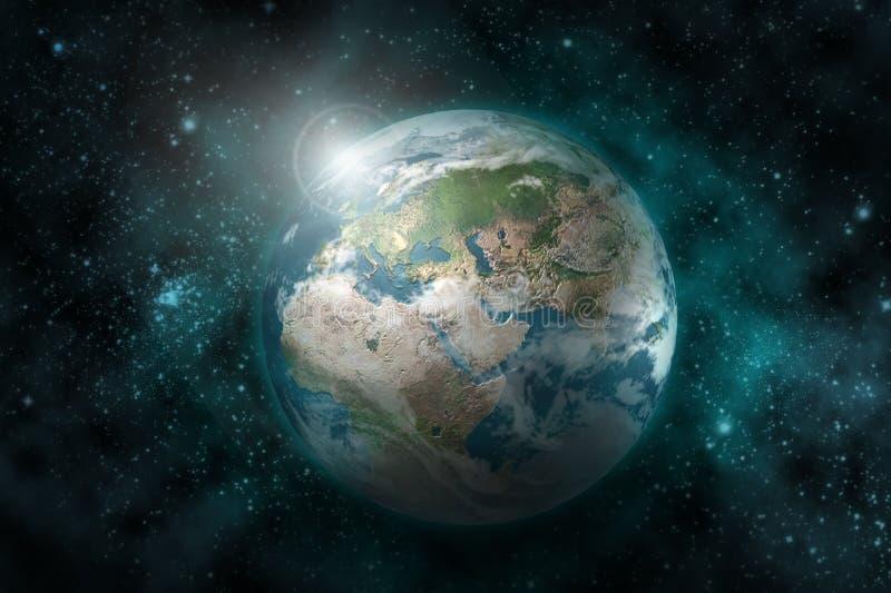 Planète de la terre illustration stock
