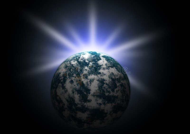 planète de la terre illustration libre de droits