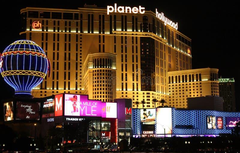 Planète Hollywood de Las Vegas photos libres de droits