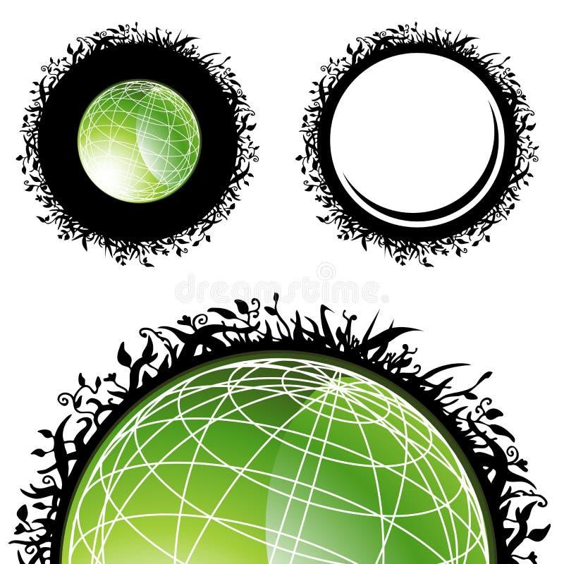 Planète saine illustration stock