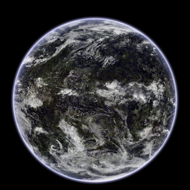planète terrestre illustration libre de droits