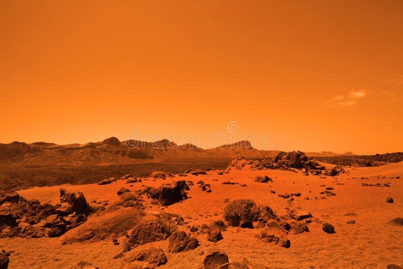 Planète terrestre abandonnée images stock