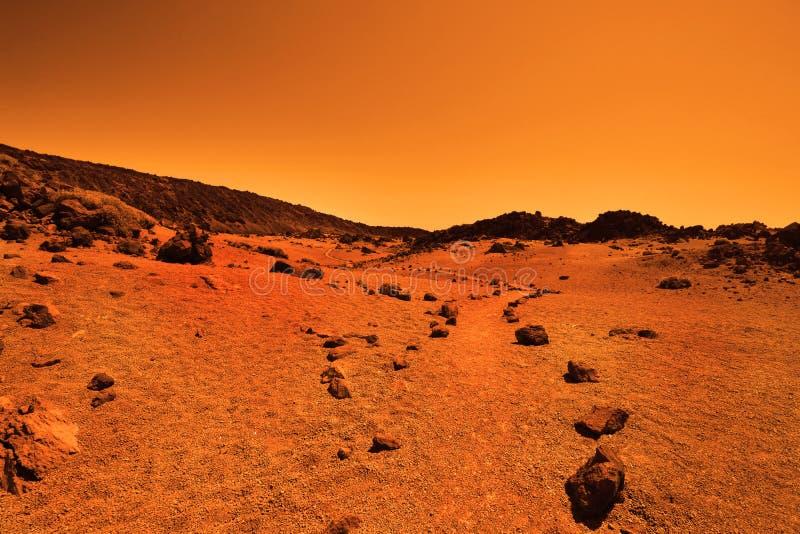 Planète terrestre abandonnée photos stock