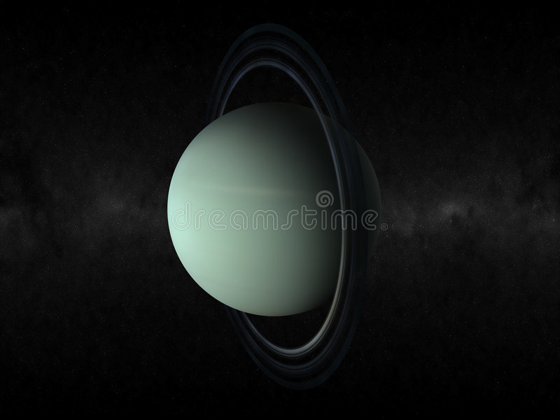 planète uranus images stock