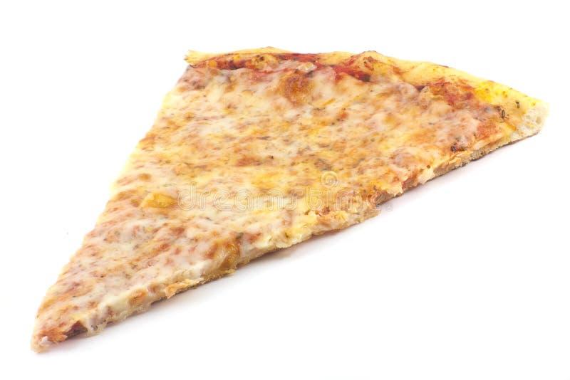 Planície da fatia da pizza foto de stock royalty free
