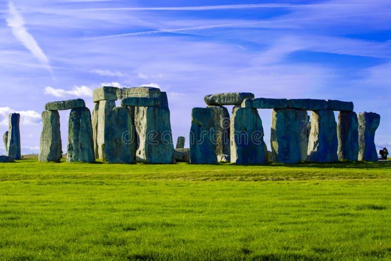 Planície Wiltshire Inglaterra de Stonehenge Salisbúria imagem de stock royalty free