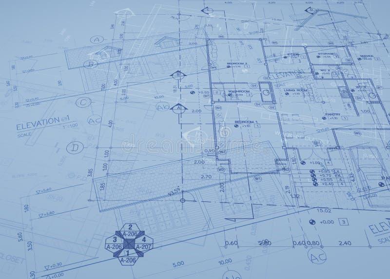 Planüberlagerung lizenzfreies stockbild