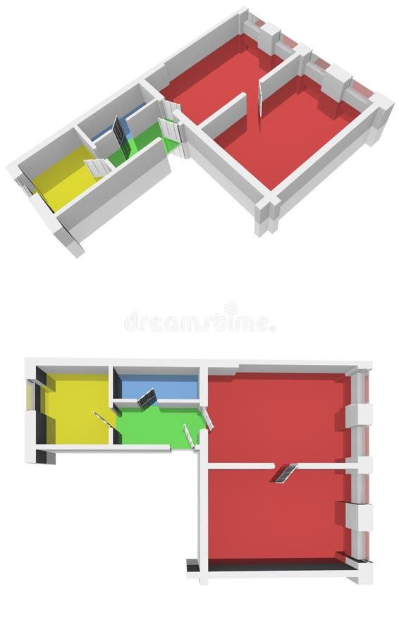 plan stock illustrationer