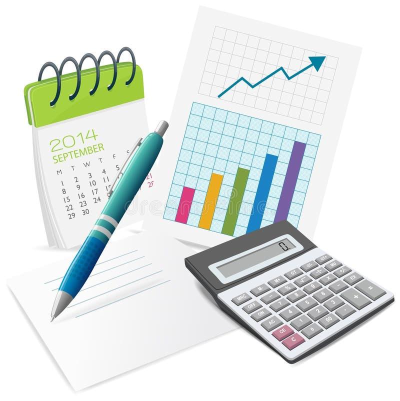 plan stock illustratie
