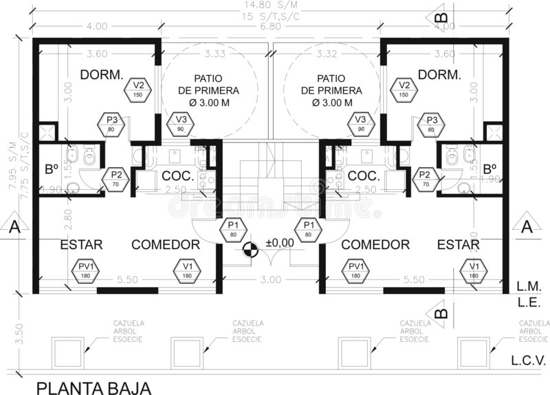 plan royalty ilustracja