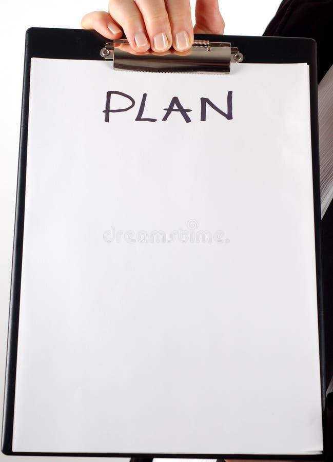 Plan #7 stock foto's