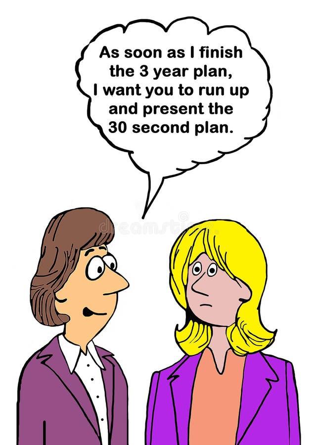plan stock de ilustración
