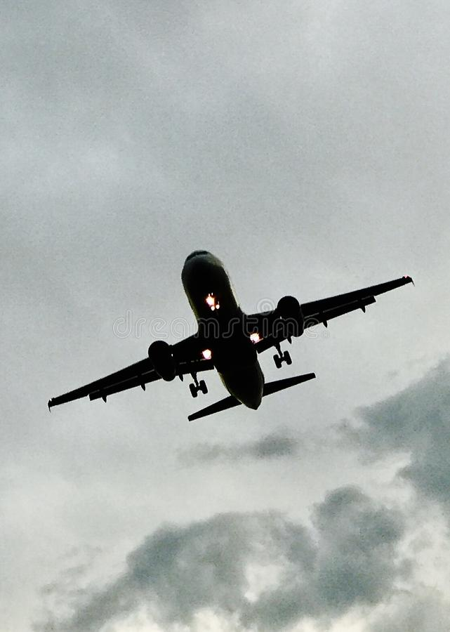 Plan aérien images stock