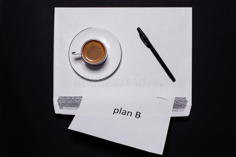 Plan B stock foto's