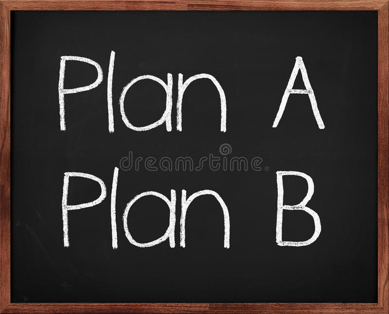 Plan B photos stock