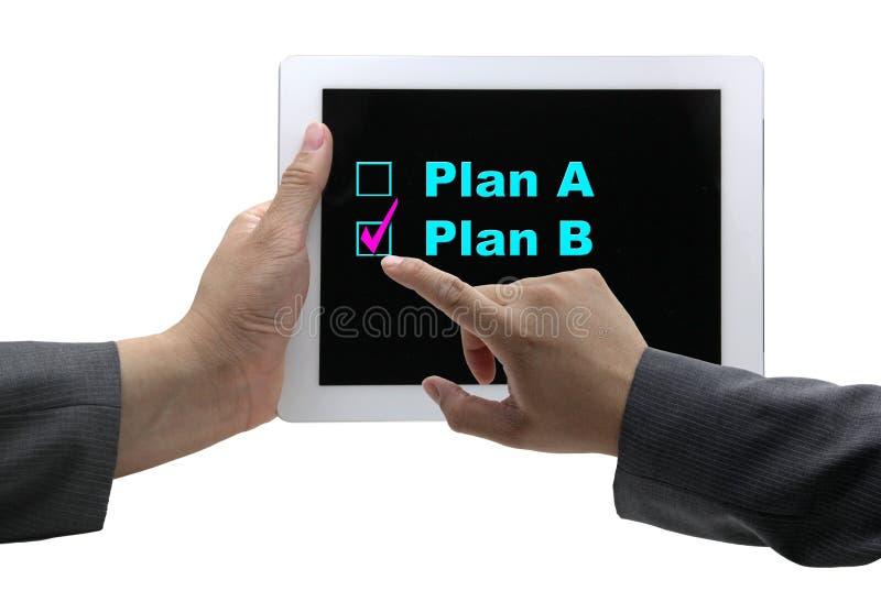 Plan B photo libre de droits