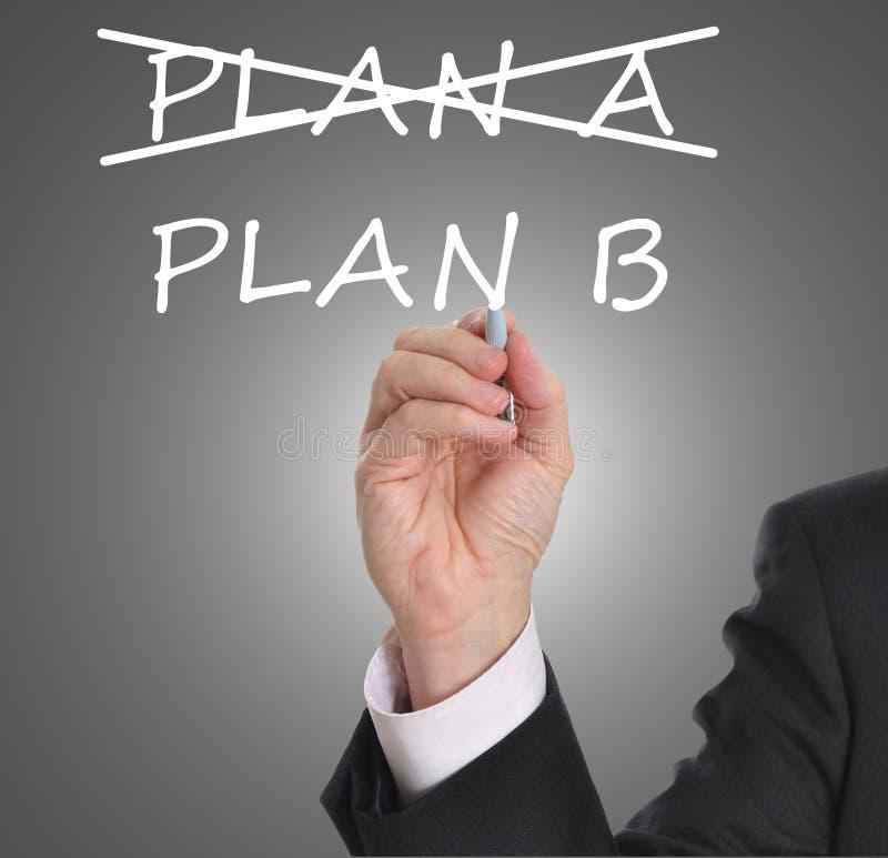 Plan B royaltyfri foto