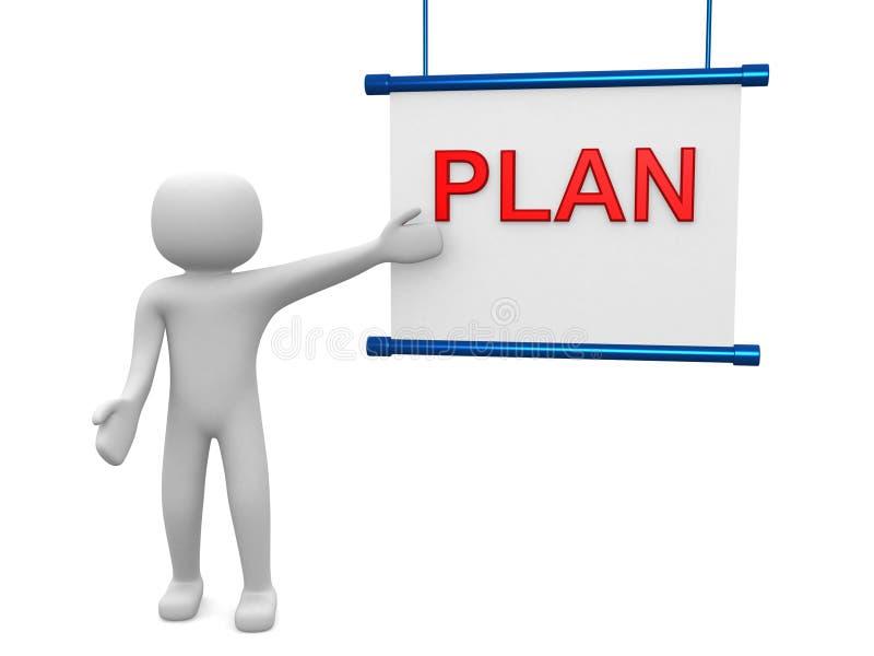 Plan concept royalty-vrije stock fotografie