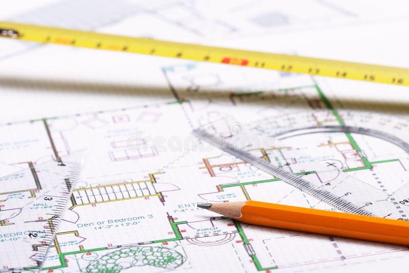 Plan d'étage photographie stock