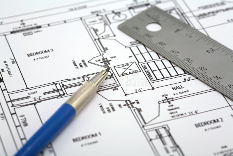 Plan d'étage images stock