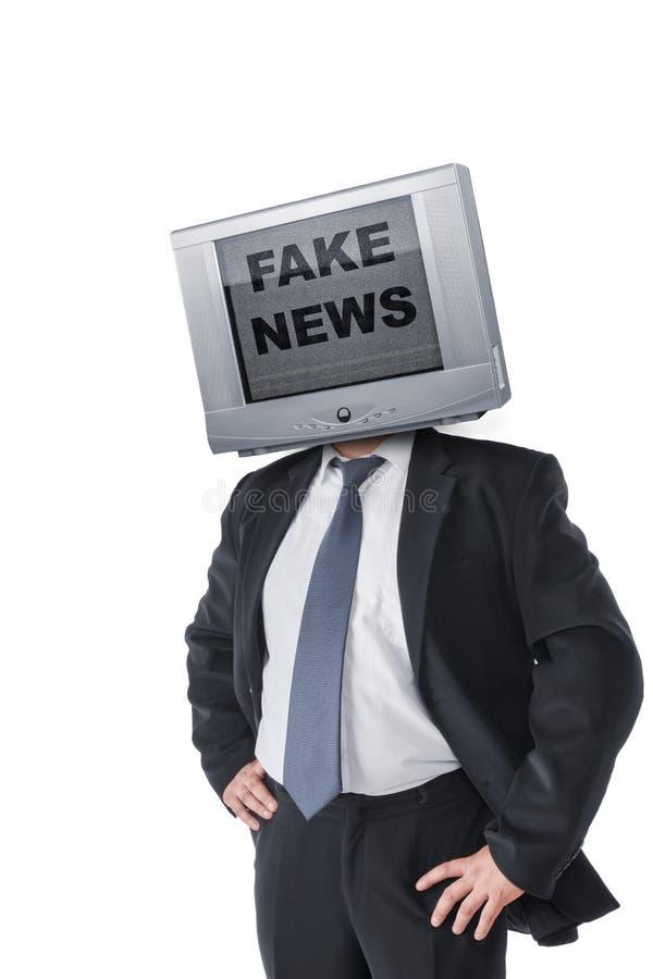 Plan d'étude de fausses nouvelles photos stock