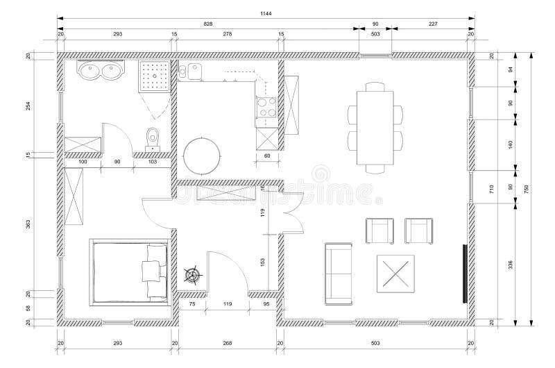 Great plan d architecte pour la de maison with plan d for Dessiner plan maison ipad