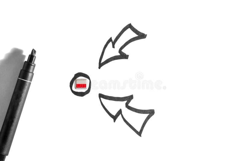 Plan d'attaque militaire, op?ration tactique contre la Pologne images stock