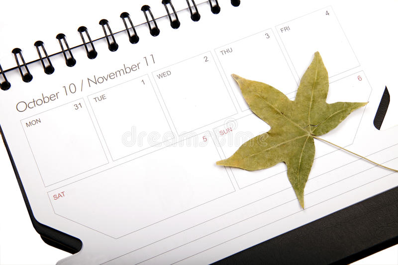 Plan d'automne photo stock