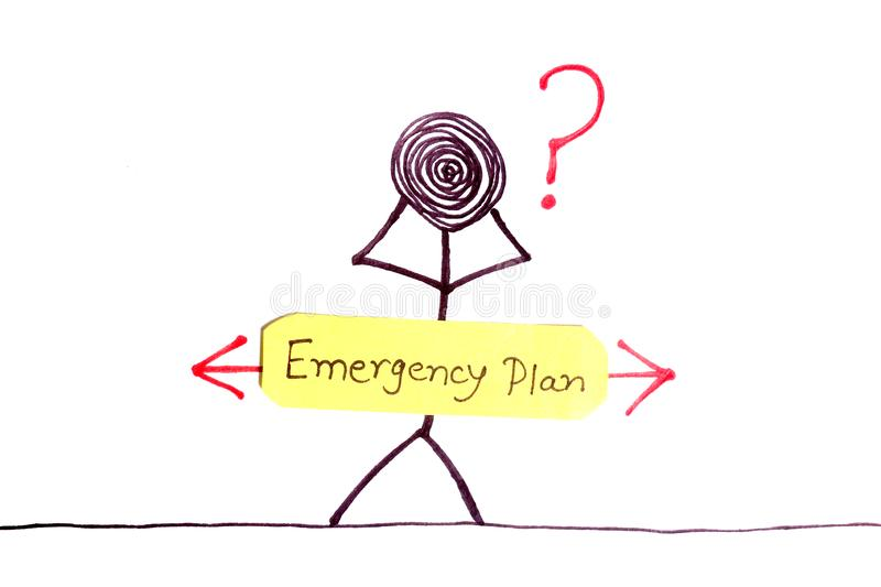 Plan de emergencia libre illustration