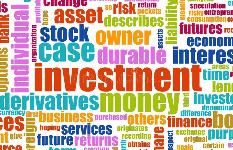 Plan de inversión ilustración del vector