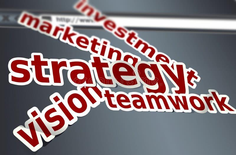 Plan de la estrategia libre illustration