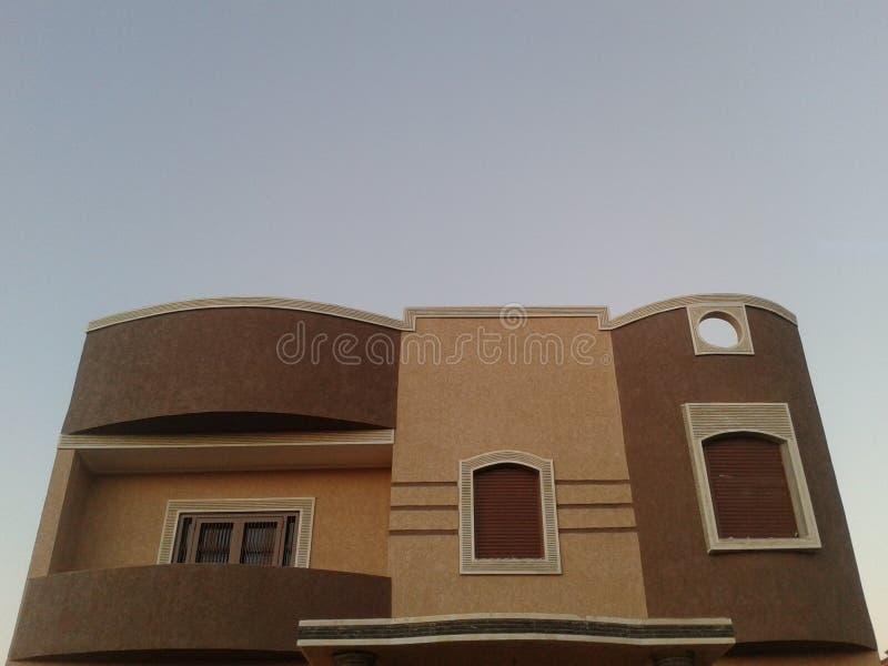 Plan de las ventanas de la construcción de la casa de la arquitectura foto de archivo libre de regalías