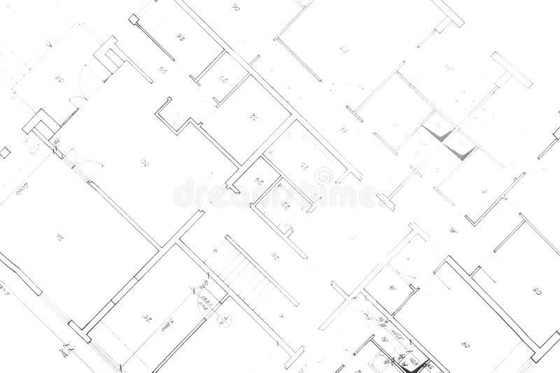 Plan de ma maison photo libre de droits